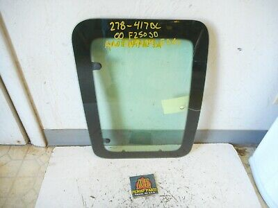 99-16 Ford F250 F350 Super Duty Super Cab OEM Left Driver REAR Door Glass Window