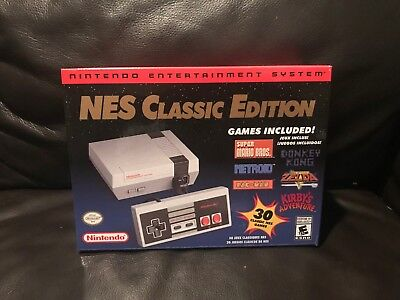 Nintendo NES Classic Mini Edition Modded w 850+ Games and Quick Reset Function