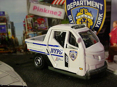 2016 POLICE RESCUE Design METER MADE☆White;NYPD;City of New York ☆LOOSE☆Matchbox