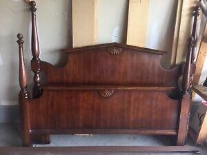 Antique Cherrywood Bedroom Set