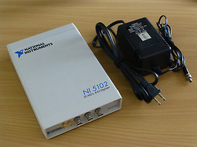 National Instruments Usb-5102 High-speed Digitizer Ni Daq Scope