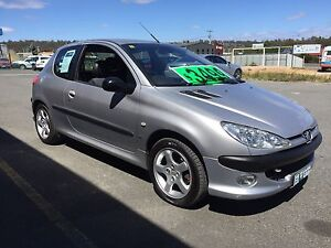 Peugeot 206GTI 2000 Model Low km Full History Prospect Vale Meander Valley Preview