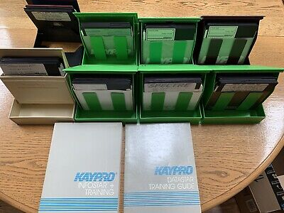 vintage 1980's Kaypro software and manuals