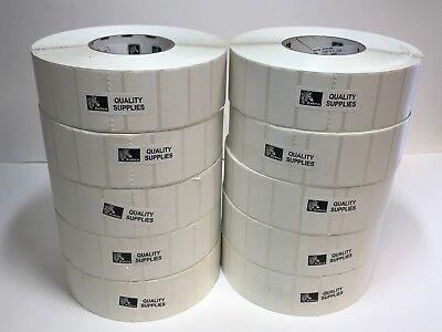 Zebra 10000288 Label Paper 2 X 1 Z-perform 2000t Thermal Transfer 10 Rollsbox