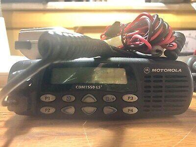Motorola Cdm1550-ls Uhf Model - Aam25skf9dp5an 450-512mhz - 40w