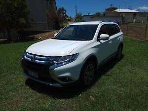 2016 Mitsubishi Outlander 2WD White 6 Speed 50000 km