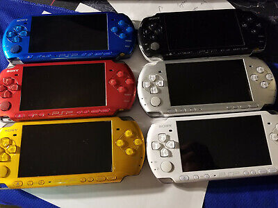 Various Colors Sony PSP Playstation Portable 3000 2000 1000 Console Bundle