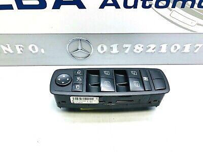 Orig Mercedes W164 ML Schalter Schalterblock Fahrertür Fensterheber A2518300290