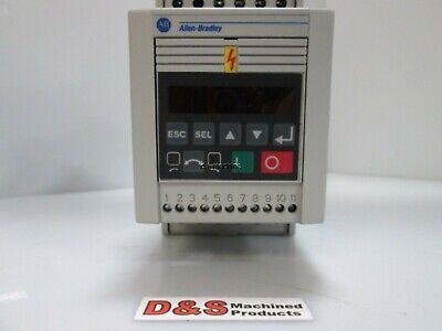 Allen-bradley 160s-aa02nps1 Serc Variable Speed Drive 0.37kw 0.5hp W Programmer