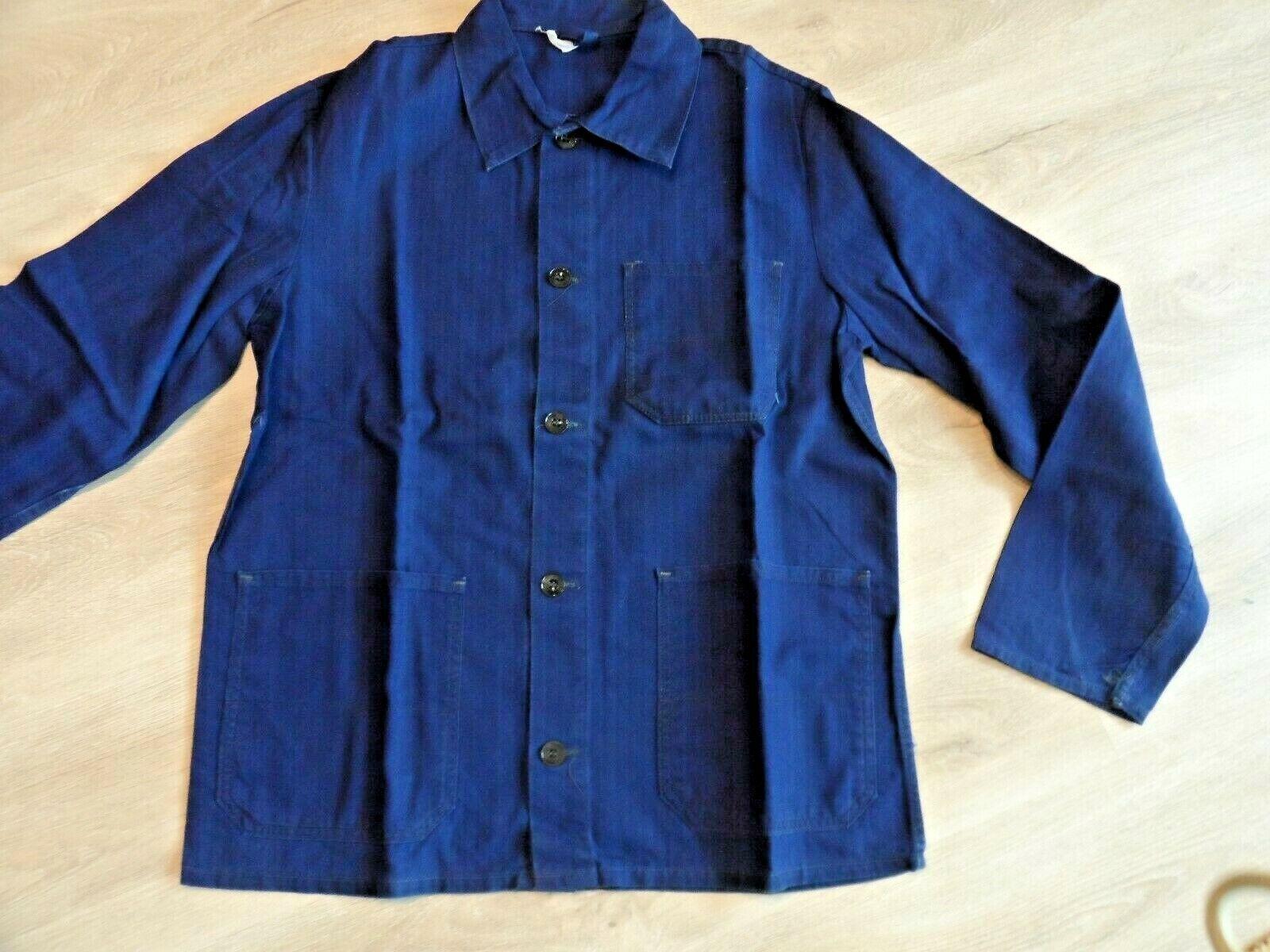 Arbeitsjacke  von Sanfor - Blau - Cotton/Baumwolle - Gr.48 - Neu!
