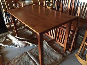 5 piece timber maple dining set Middle Dural The Hills District Preview