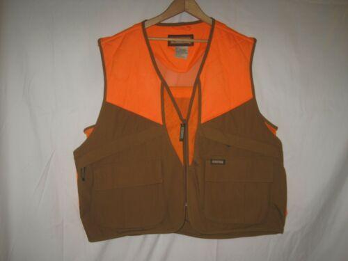 Remington Blaze Orange Pheasant Hunting Vest L Upland Grouse