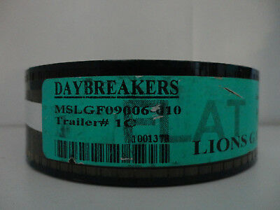 Daybreakers  2009 35mm Movie Trailer #1C  Film  Collectibles FLAT 2min25sec
