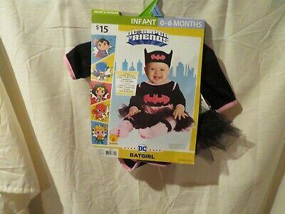 Infant Batgirl Halloween Costumes (NWT Infant Girls Batgirl Rubie's Halloween Costume, 0 / 6)