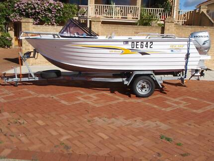 SEAJAY CLASSIC 4.55 with 40 hp 4 stroke 2005 Wembley Cambridge Area Preview
