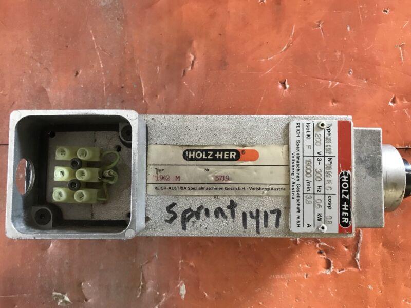 ELTE MSI 8 5/2 High speed motor From HolzHer Sprint 1417