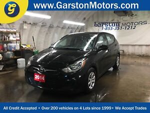 2014 Hyundai Accent G*HEATED FRONT SEATS*PHONE CONNECT*CLIMATE C