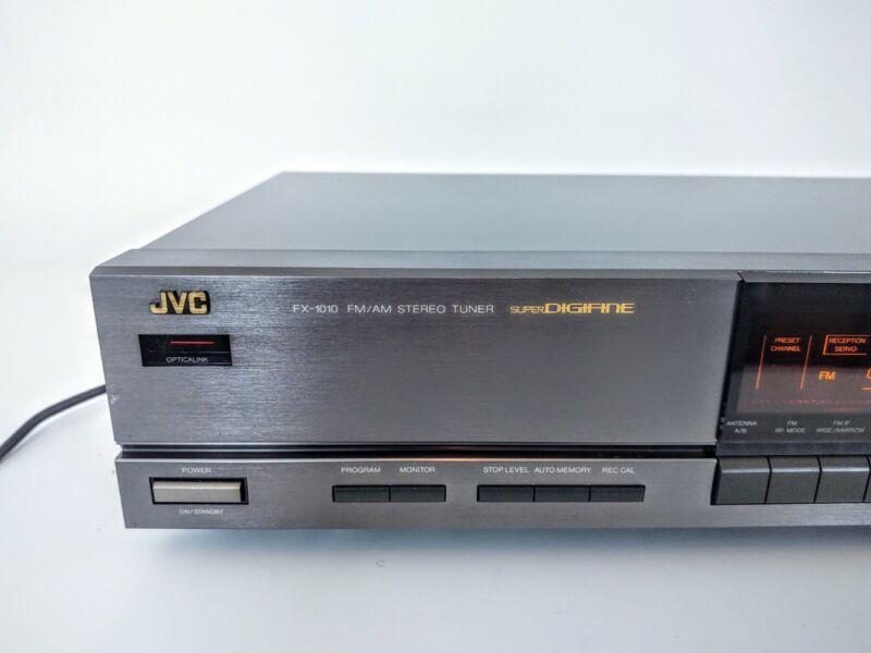 JVC FX-1010 Super Digifine AM/FM Tuner *Rare*