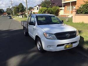 2008 TOYOTA HILUX SR AUTO GGN15R ALLOY TRAY UTE,1 OWNER Westmead Parramatta Area Preview