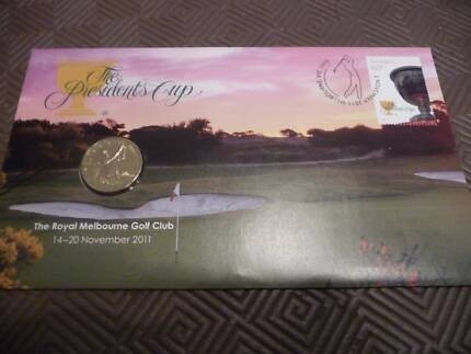 2011 $1 Coin - The President's Cup Royal Melbourne Golf Club PNC Kahibah Lake Macquarie Area Preview
