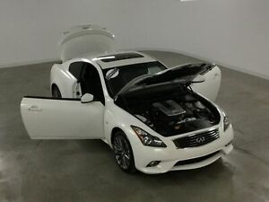 2014 Infiniti Q60 S AWD Coupe GPS*Cuir*Toit Ouvrant*