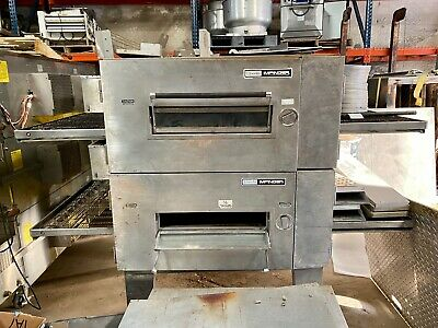 Lincoln Impinger 1600 Double Stack Conveyor Pizza Oven 32 Conveyor