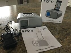 iHome iH22SX Alarm Clock Speaker System for Ipod/Iphone 1st-4th Gen