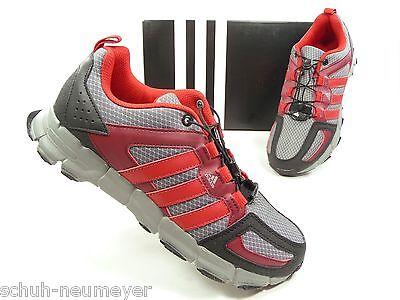 adidas Laufschuhe für Kinder und Jugendliche in Grau Schwarz Rot (M25497)