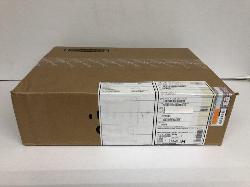 New Cisco Air-ct3504-k9 3504 Wireless Controller Lan Airct3504k9