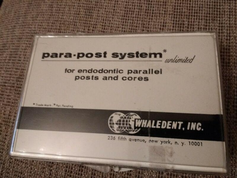 Whaledent Endodontic Para-Post System P-40