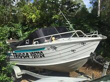 Aluminium 5.7m Boat Black Mountain Noosa Area Preview