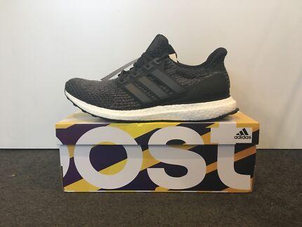 Adidas Ultra Boost 3.0 Black/ Grey US 10.5/ UK 10 (New)