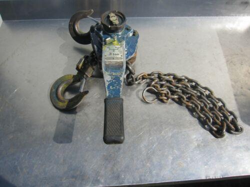 Ingersoll Rand SL600E 3 ton 6,000 lbs lever chain hoist Silver Series 5