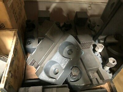 Vertical Turret Lathe Boring Mill Jaws Set Of 4 Base Is 8 34 X 9 12