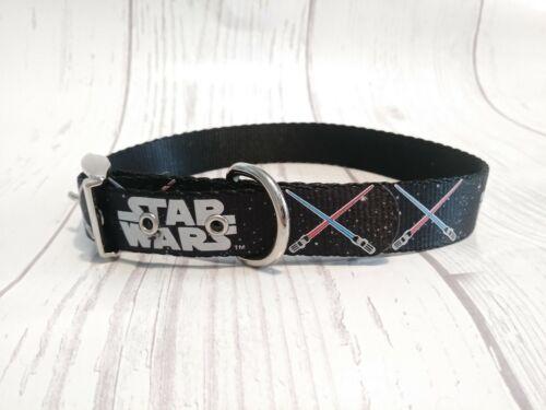 Petco STAR WARS Dueling Lightsaber Adjustable Dog Collar Sma