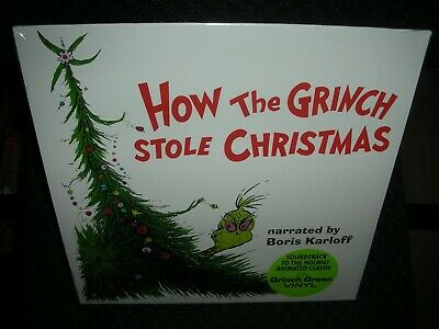 How the Grinch Stole Christmas [Original Soundtrack] *NEW GREEN RECORD LP VINYL ()