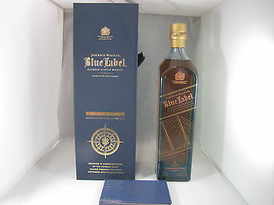 Johnnie Walker Whisky Blue Label Voyager Taipei Edition 750ml Full and Sealed ()