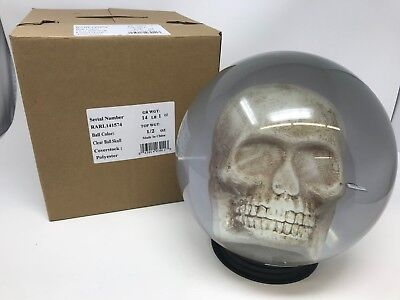 New KR Clear Skull Bowling Ball 14 pounds