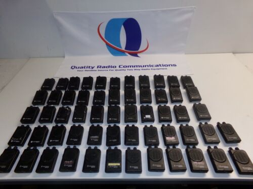 Lot of 57 Motorola Minitor IV & V Fire EMS Pagers UHF VHF & Low Band