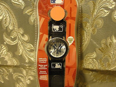 Series Mlb Watch - New York Yankees Rookie Series black watch adjustable strap water resistant, MLB
