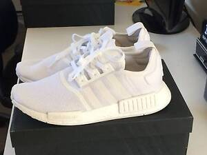 Adidas NMD Monochrome Triple White US 10 Rowville Knox Area Preview
