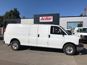 2017 GMC Savana 2500 155ext fin or lease from4.99%oac