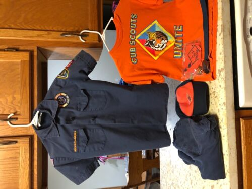 Cubscouts Tiger uniform whole thing