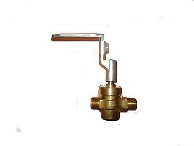 Ace Gas Valve. 12x12 National Pipe Thread Taper W Handle. Wr-gv Wr-gvh