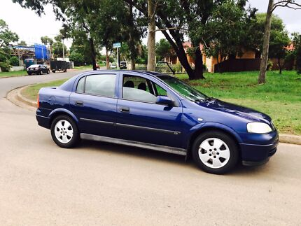 2003 Holden Astra TS CD Sedan Auto 11months Rego Low Kms Liverpool Liverpool Area Preview