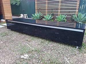 Gloss black - 2.2m long low entertainment unit Lilyfield Leichhardt Area Preview