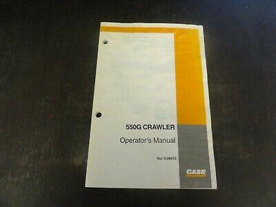Case 550g Crawler Dozer Operators Manual  Bur 9-26012
