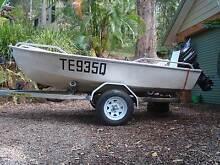 """12 foot fibreglass """"tinnie"""" Tallebudgera Gold Coast South Preview"""