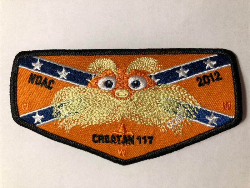 OA (BSA) Croatan Lodge #117 - 2012 NOAC Flap