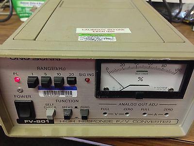 Ono Sokki Fv-801 Converter